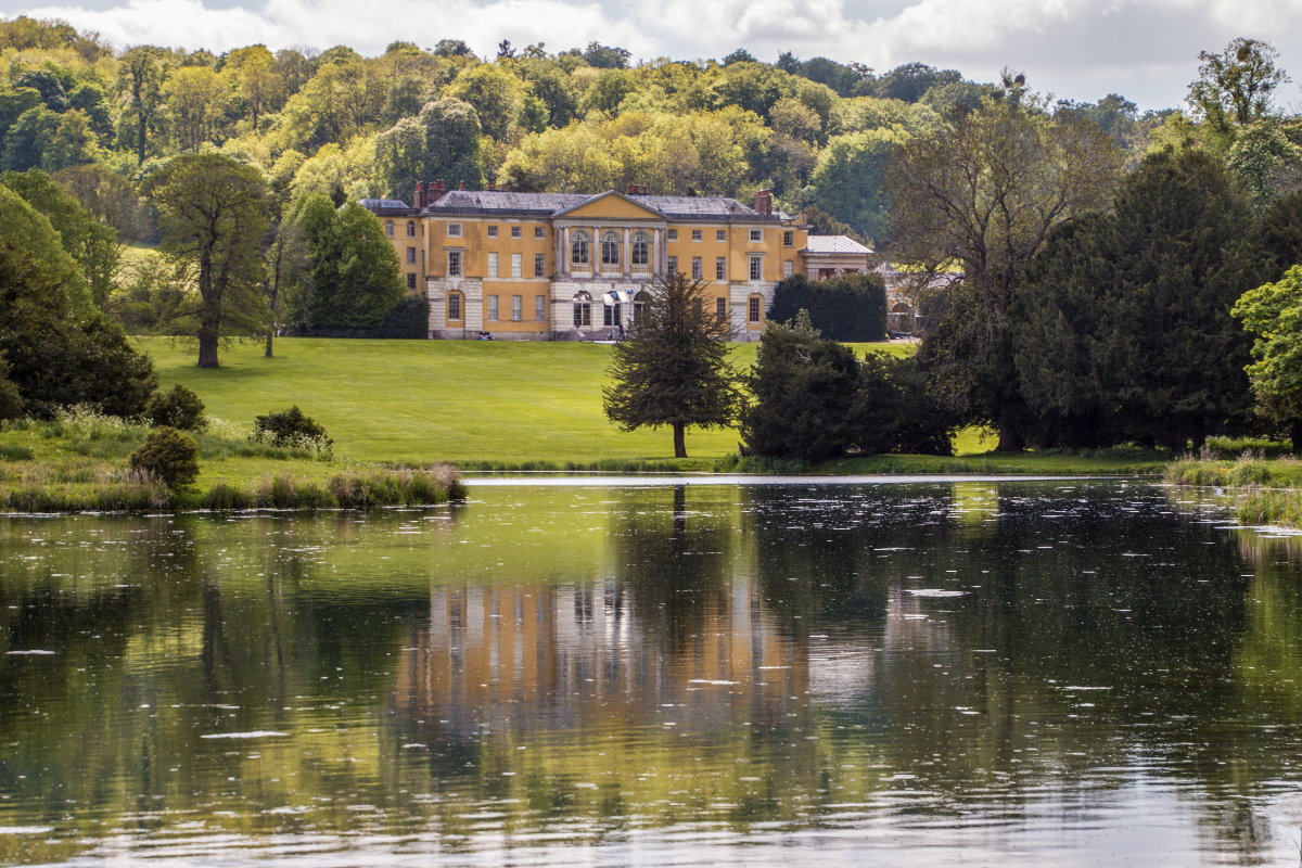 The Lake and West Wycombe House