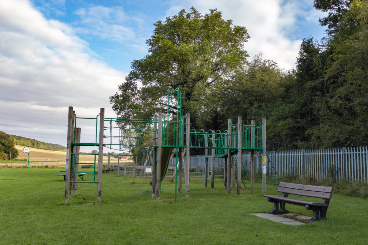 Pedestal Playing Field and Playground