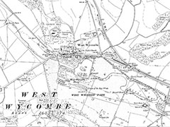 West Wycombe Map