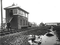 West Wycombe Signal Box and Station (1905)
