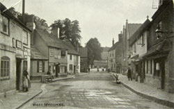 West Wycombe Village c1900