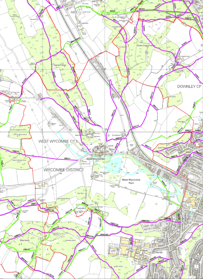 West Wycombe Parish Council Footpaths
